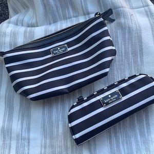 NWT Kate Spade Makeup Bag Set